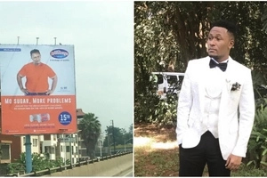 Rib-cracking photo of fat DJ Mo that will have you laughing louder than wife Size 8