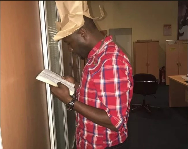 NTV reporter Dennis Okari STRUCK below the belt after trying to take on Raila Odinga
