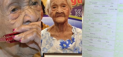 Sungkitin na yan! 119-year-old Pinay aims for Guinness' oldest living person title