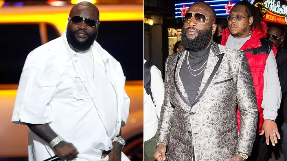 Rick Ross before and after CrossFit