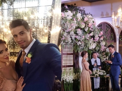 10 years and still deeply in love! Danica Sotto and Marc Pingris renew their wedding vows of happily ever after