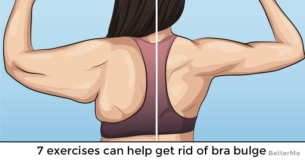 7 exercises can help get rid of bra bulge