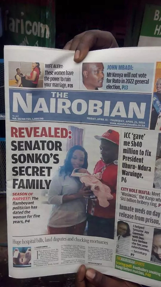 Sonko to sue newspaper over libelous article