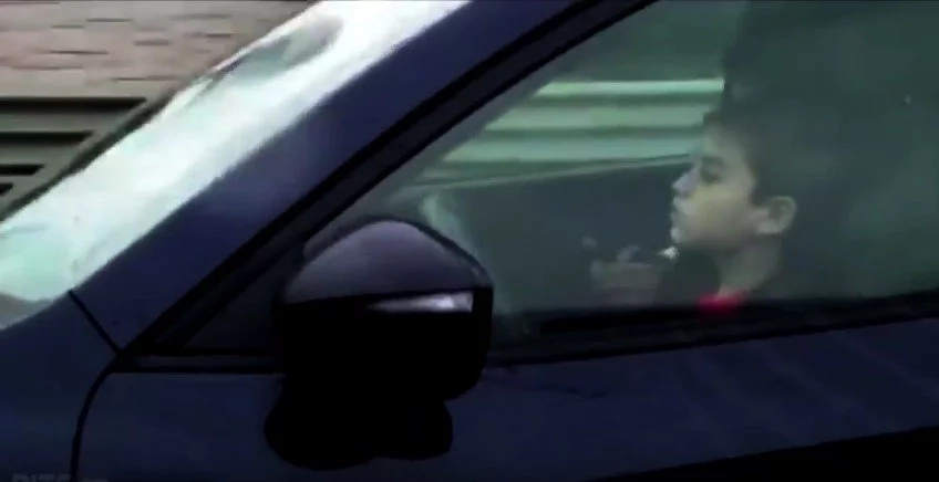 Shocked Motorists Capture Footage Of Little Boy Driving 100kmh Down Highway