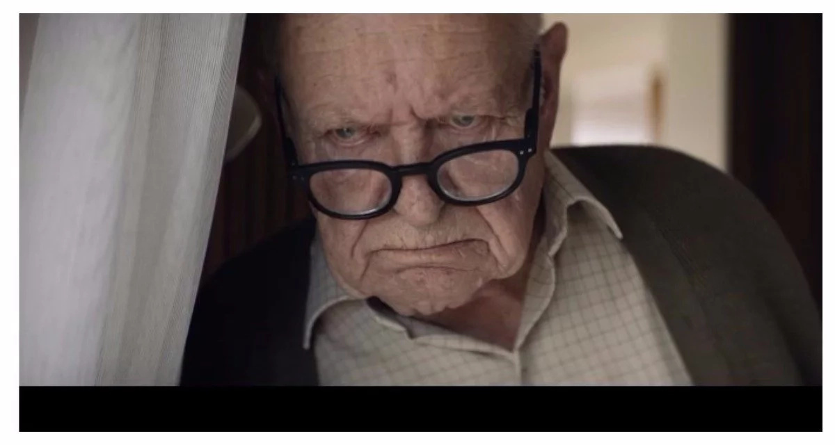 Grumpy old man in this advert will melt your heart