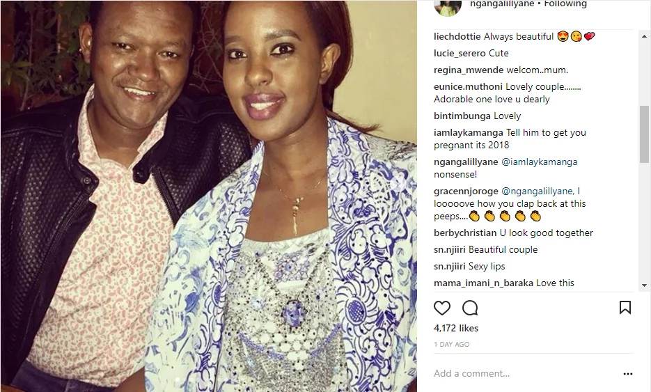 Governor Alfred Mutua's wife dismisses fun who advised her hubby to make her pregnant