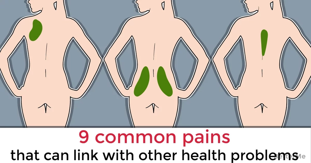 9 common pains that can link with other health problems