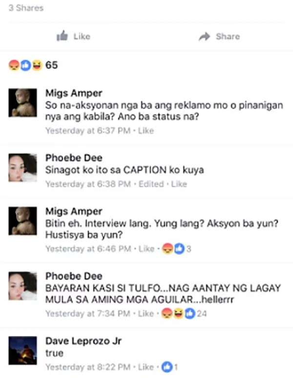 Maegan Aguilar cusses out Raffy Tulfo in light of her taxi theft allegations