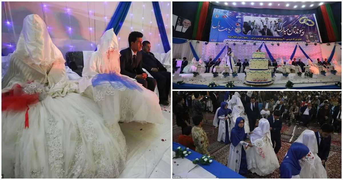 PHOTOS: 34 couples tie the knot in colorful mass wedding