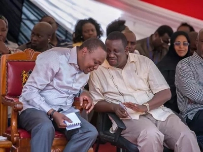 Governor who dumped Raila for Uhuru is now suffering