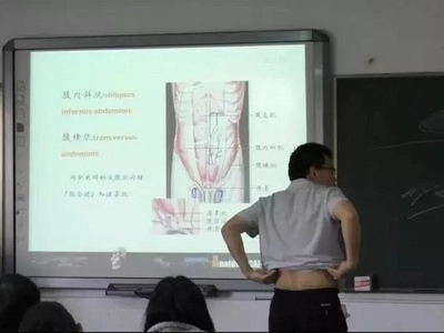 Find out why this Chinese teacher has a weird way of teaching anatomy to his students