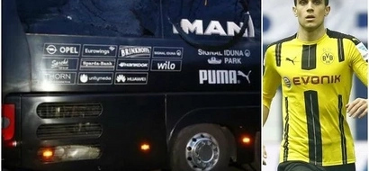 SCARE as bus EXPLOSION forces cancellation of UEFA Champions League Match, player injured