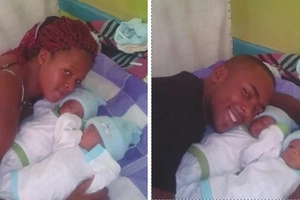 You won't resist showing unconditional love for this 20-year-old Eldoret mum's CHARMING twins