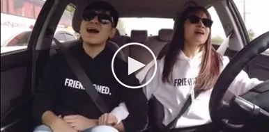Kristel Fulgar and CJ Navato's #CARaokeChallenge will give you the ultimate