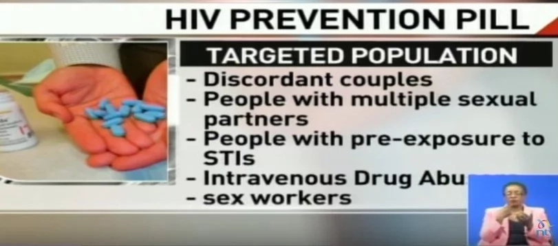 Kenya will HAND OUT drug that PROTECTS people from getting infected with HIV