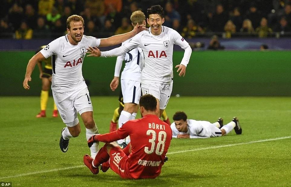 [Teams] Borussia Dortmund vs Tottenham: Confirmed Line-Ups