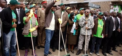 PHOTOS: 5 Things President Uhuru Can Learn From Magufuli's Street Cleaning