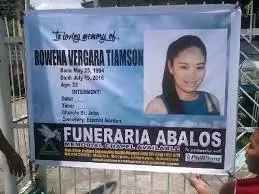 #JusticeForRowena – Vigilantes killed college honor student in Manaoag