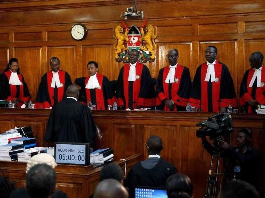 You have taken Kenya so many year back - Uhuru angrily tells Supreme Court