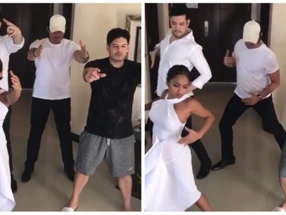Walang kupas! Dingdong Dantes shares dance cover of 90's hit 'Always I Want To Be With You' with Rochelle Pangilinan, Arthur Solinap, Carlo Gonzales