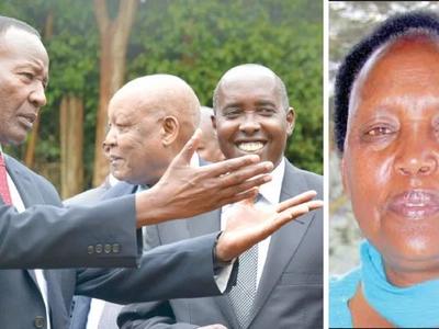 Hellen Nkaissery apata kazi nzuri baada ya kifo cha mumewe Joseph Nkaissery