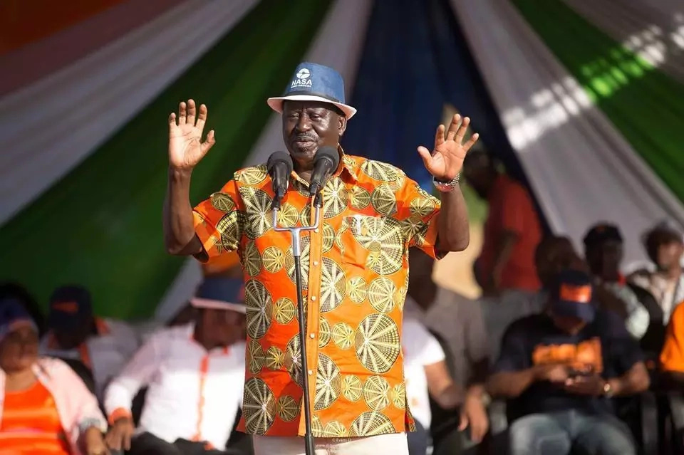 Raila reveals his late son Fidel Odinga is still registered as a voter