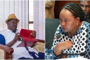 Raila Odinga finally speaks to Anne Waiguru after Court order