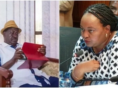 Raila Odinga ordered to speak to Anne Waiguru