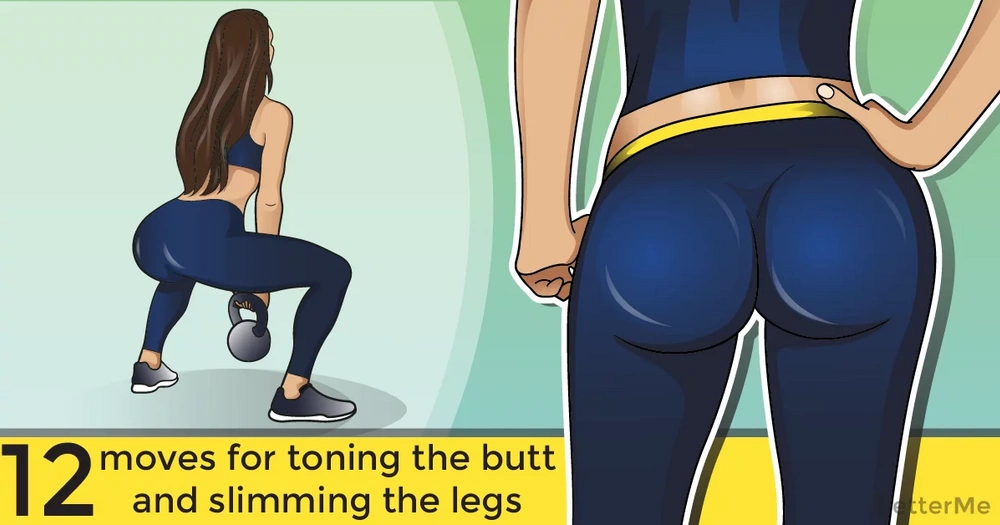 12 best moves for toning the butt and slimming the legs