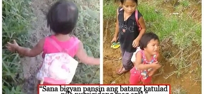 Naiyak na lang sa pagod! Daycare learner endures hours of walking just to go to school