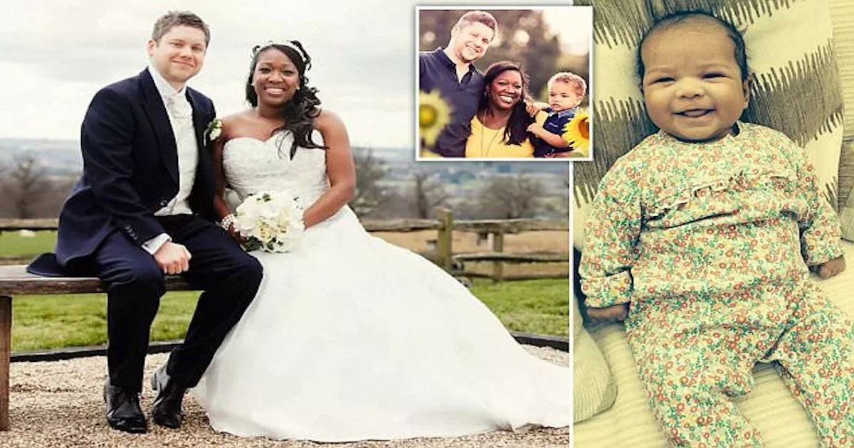 Widower reveals sad moment his wife died moments after giving birth to their daughter (photos)