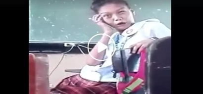 Pinay student shares crazy reaction upon seeing crush in hilarious Facebook video
