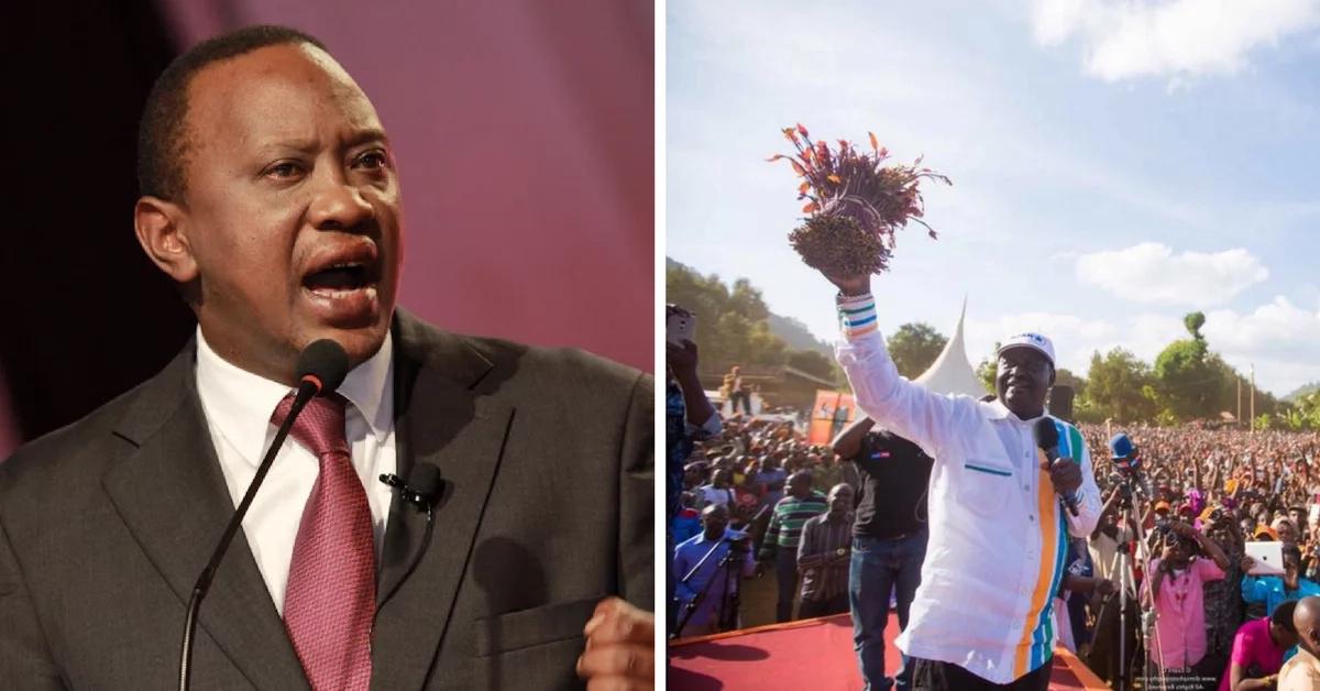Uhuru Kenyatta and William Ruto fire back at NASA over the IEBC ballot papers printing tender
