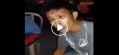 Ginalingan kahit lasing eh! Drunk Pinoy spotted singing hit song in viral video