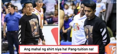 Ang OA ha! James Yap wore a sweatshirt worth P27,000 to a PBA game
