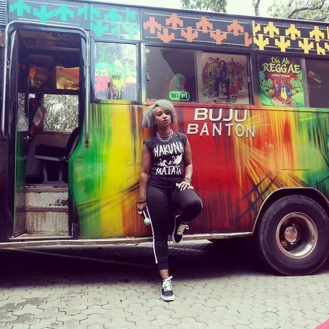 Talia Oyando looks like the hottest Kenyan celebrity in these photos