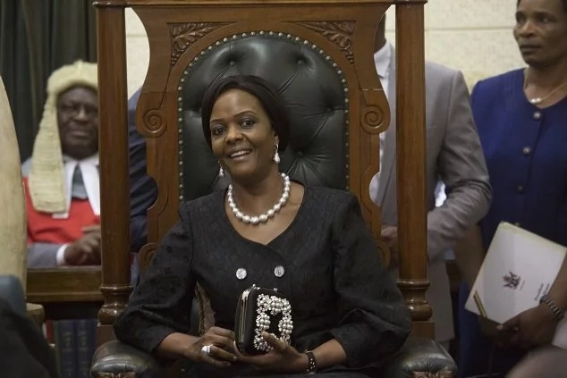 Former Zimbabwean First Lady Grace Mugabe. Photo: AP