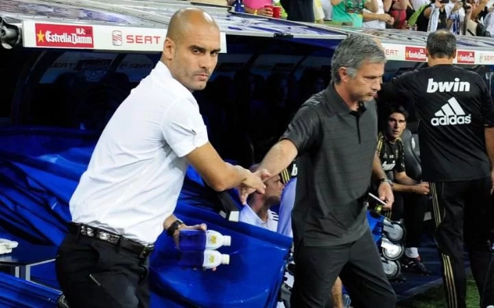 Jose Mourinho blames players, referee for first defeat