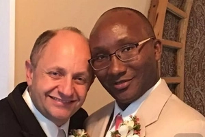 Photos: Gay Kenyan man gets married to his American male lover