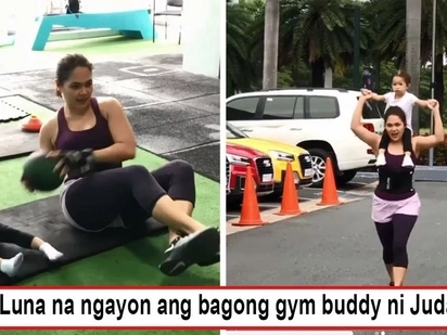 Kanya-kanyang paraan lang 'yan! Judy Ann Santos inspires momshies to stay fit through cute workout video with daughter Luna