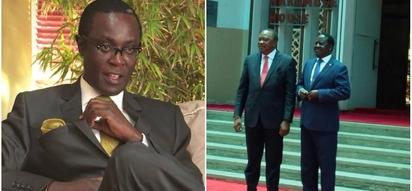 Raila's pact with Uhuru will not last - Mutahi Ngunyi