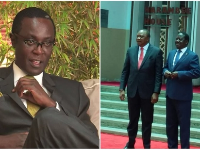 Raila's pact with Uhuru will not last - Mutahi Ngunyi