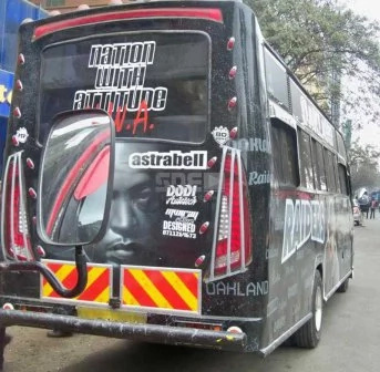 Photos of the hottest Kenyan Matatu, boasts a red-carpet