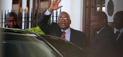 What led to Jacob Zuma's resignation?