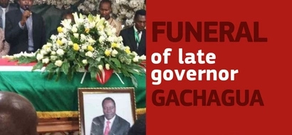 Funeral of late governor Nderitu (video)