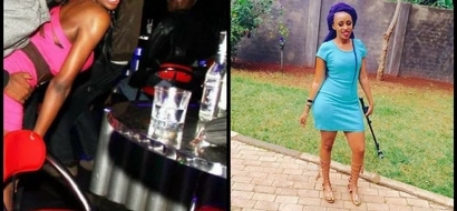This sizzling hot woman has invited the public for sex party in Westlands (photos)