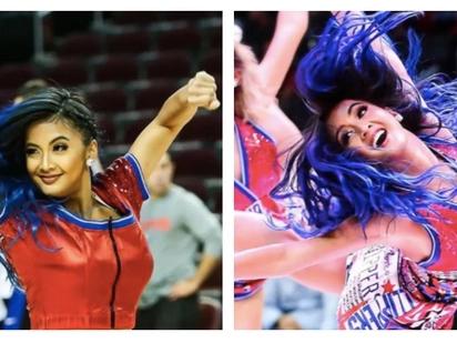 Hataw! 18-year-old Pinay cheerleader is showstopper at NBA games