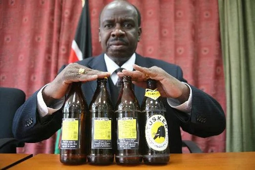 No nonsense John Mututho angry at NASA after chang'aa promise