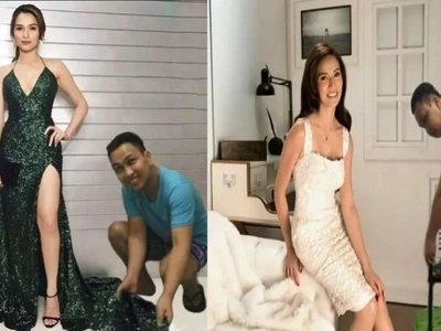 Makasama lang si idol! Netizen makes us laugh with his photoshopped pictures with Jennylyn Mercado
