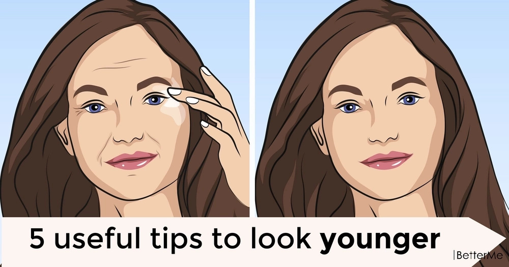 5 useful tips to look younger